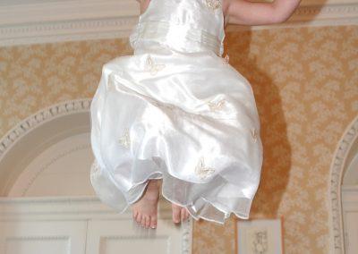 bridesmaid jump